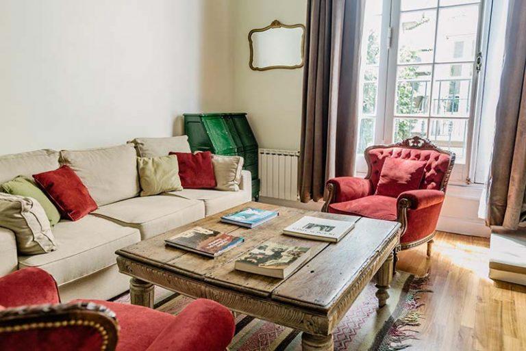 Apart Hotel Buenos Aires Sofa Table Window Curtains Mirror Cushions