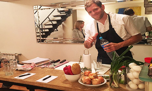 Poetry Building private chef apartments Recoleta private cooking class